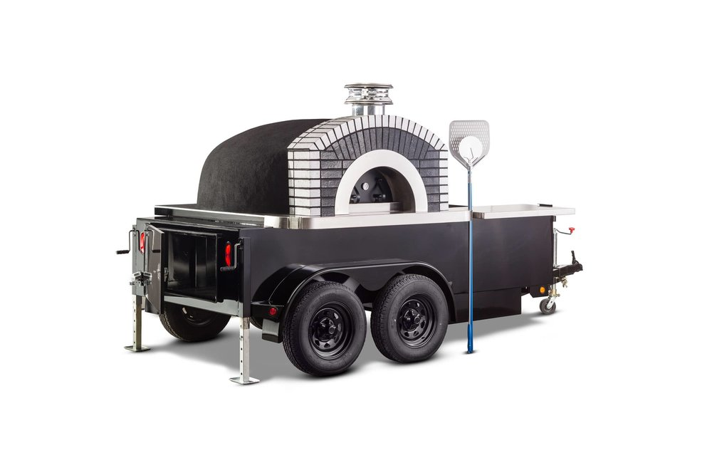 Product Photography of a Mobile Oven Taken By the Professional Product Photographers at Harper Point.