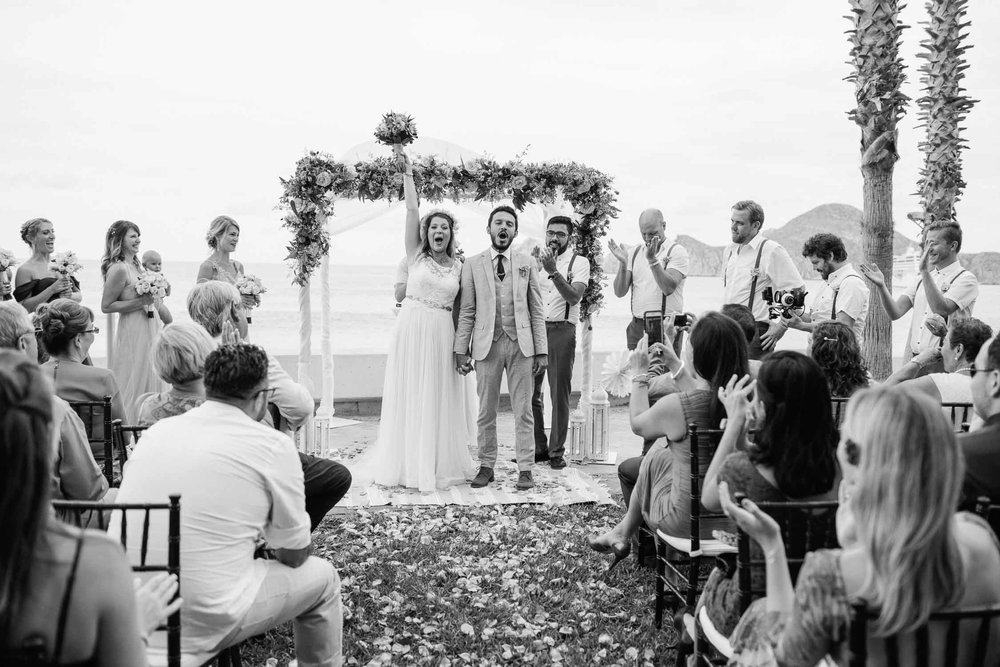 Wedding Photography of Ceremony Taken By the Wedding Photographers at Harper Point.