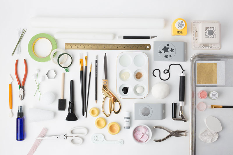 Photo of Different Supplies Taken by the Camarillo Product Photographer at Harper Point.