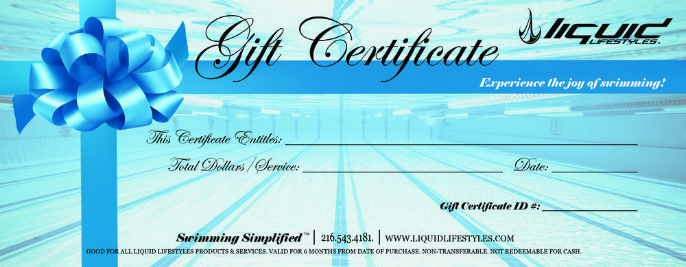Gift certificates can be purchased for any dollar amount and are good for all products and services. Valid for 6 months from the date of purchase. Gift Certificates are non-transferable and have no cash value.