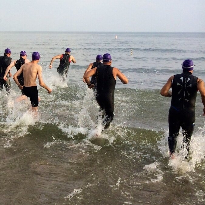 Triathlon specific swim and open water techniques for beginner athletes as well as the seasoned elite.