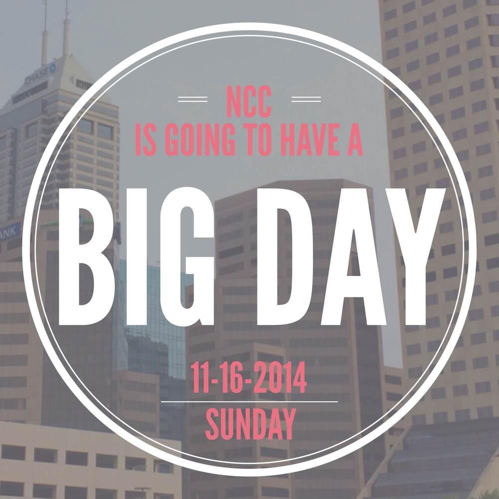 BIG DAY   NOV 16