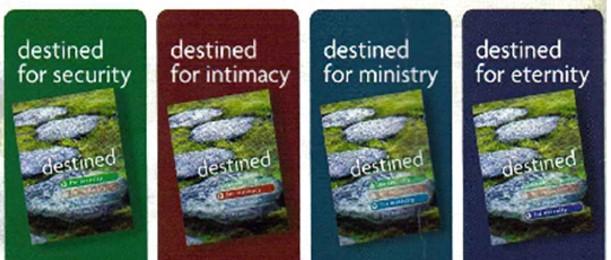 Destined Discipleship - 4-Part Mentoring/Discipleship Bible Study