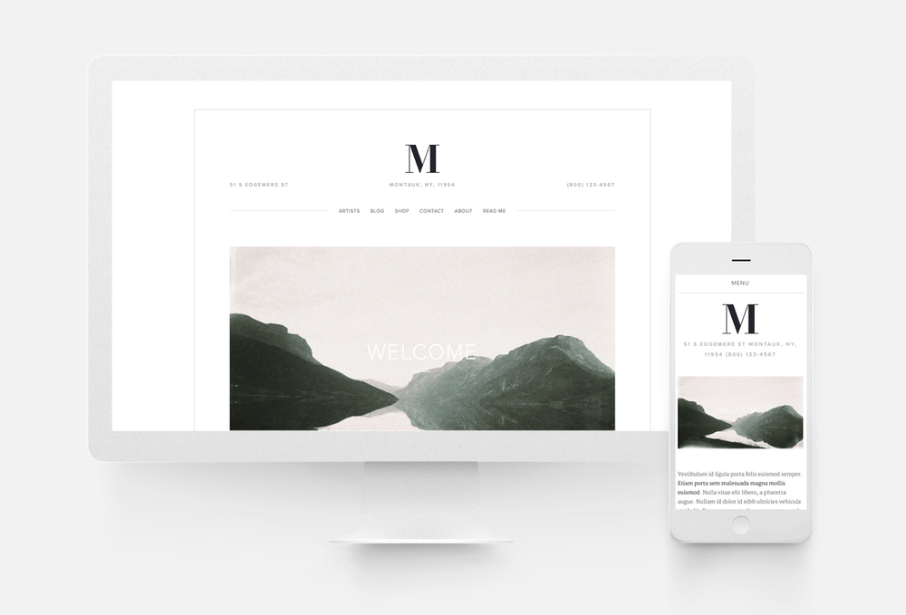 Squarespace website templates 10twelve creative agency for Best squarespace template for video