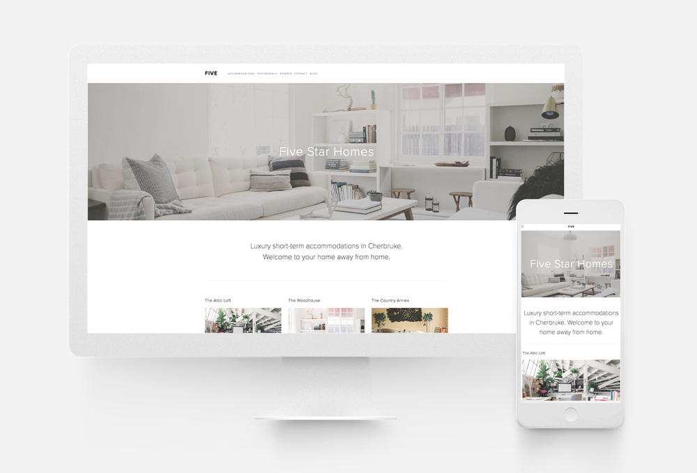 squarespace template five 10twelve creative agency chicago. Black Bedroom Furniture Sets. Home Design Ideas