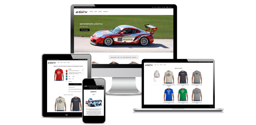 0-Sixty Motorsports Apparel and Accessories