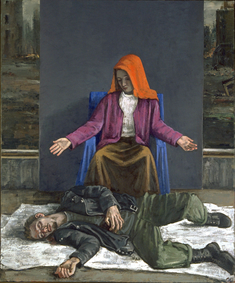 Pieta; St. Mary's. 1990s.