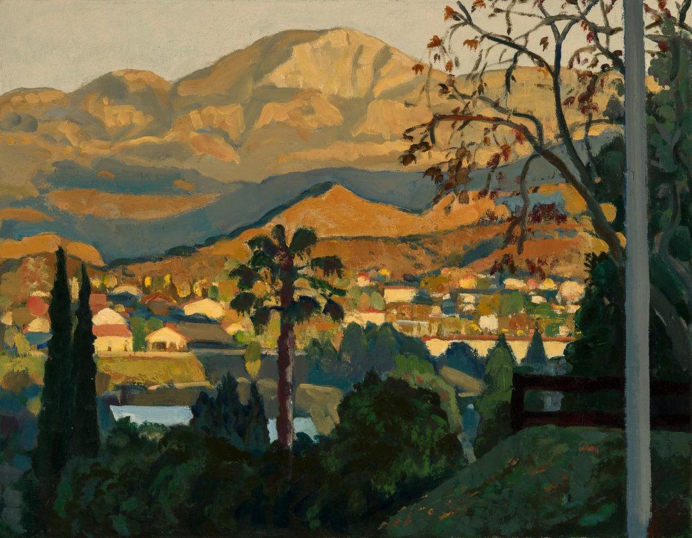 Sunset at El Capitan Mountain
