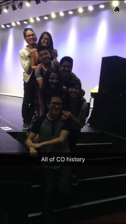 Featuring CO-presidents 2010-2017: me, Monica, Michael, Aloy, Vienna, Crystal, and Felipe. Missing Marcus, Patrick, Dindin, Kevin, and Aaron.