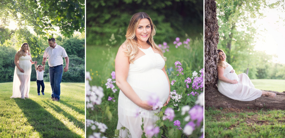 Maternity family photography