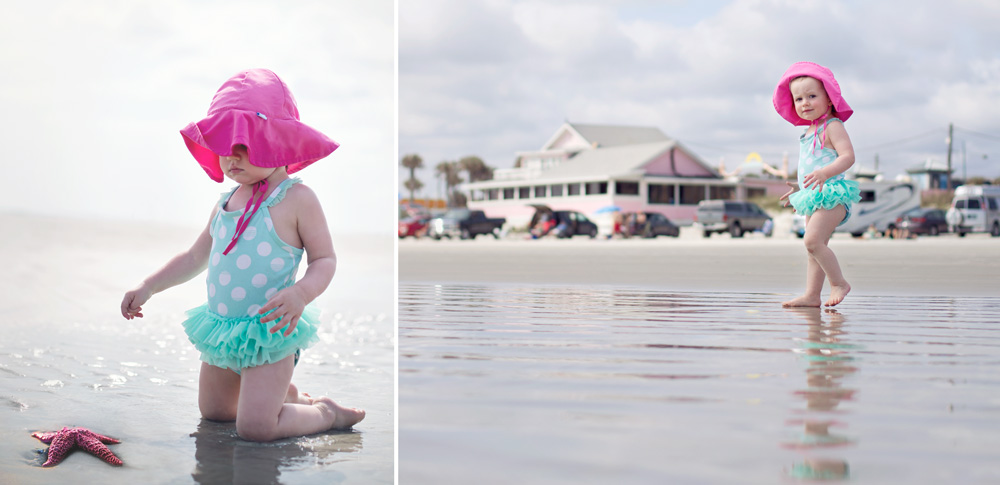 Children lifestyle beach photography