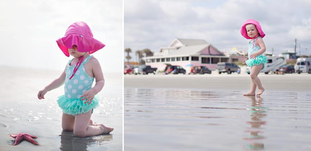 Children lifestyle beach photography