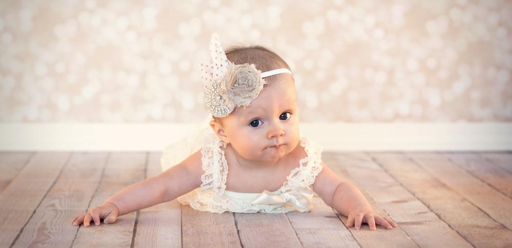Children baby studio photography