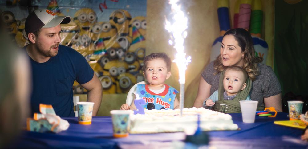 Children lifestyle birthday photography