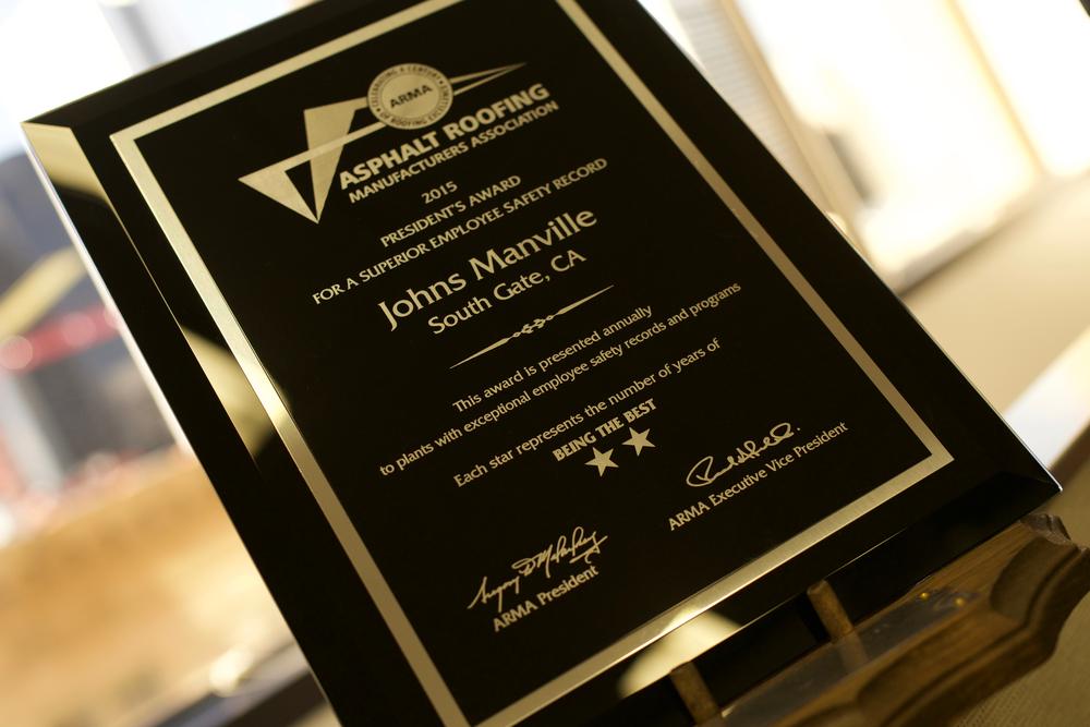 South Gate ARMA Award