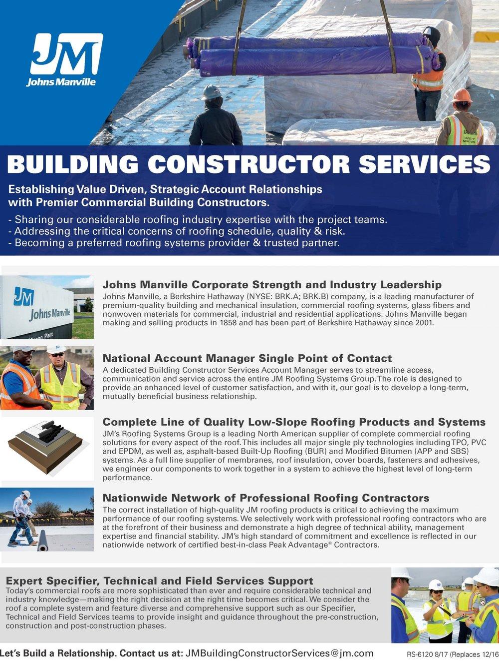 Building Constructor Services