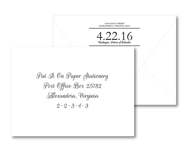 Kennedy Envelope Printing Put It On Paper Stationery