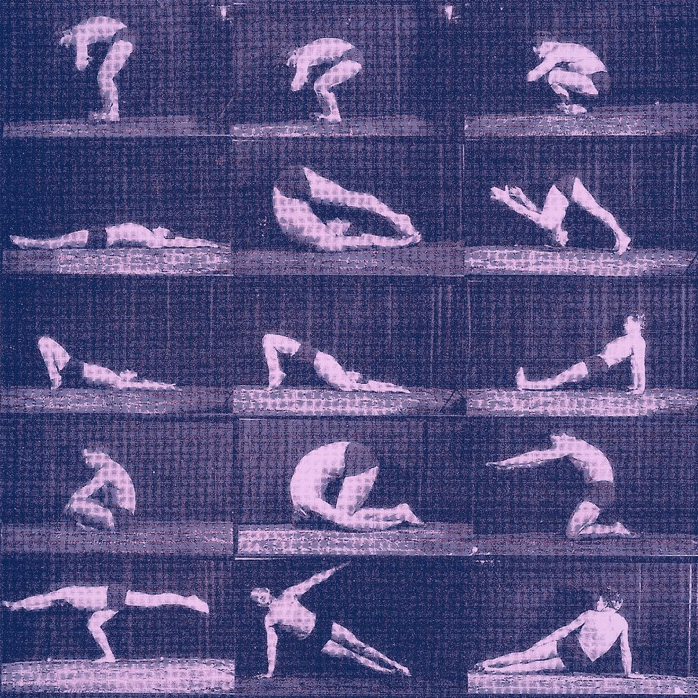 Joseph H Pilates demonstrating his MatWork