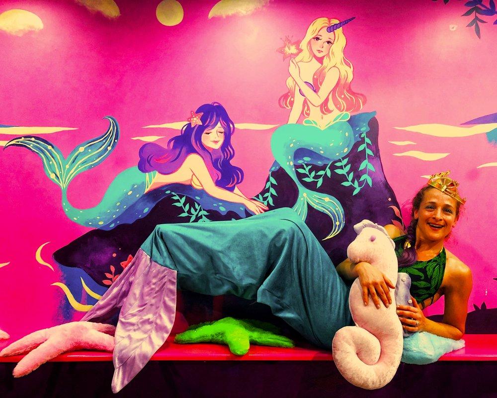 pilates mermaid halloween fit fun