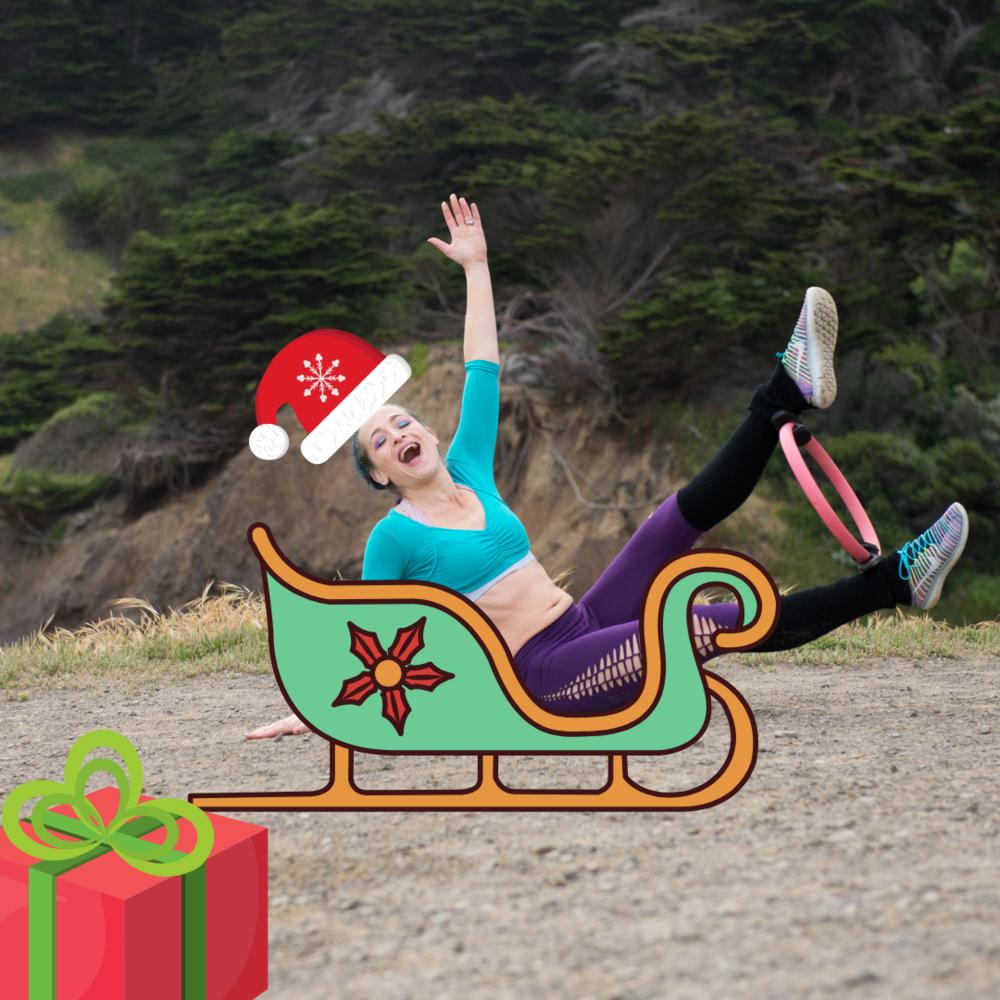 holiday fitness hacks jessi fit pilates santa