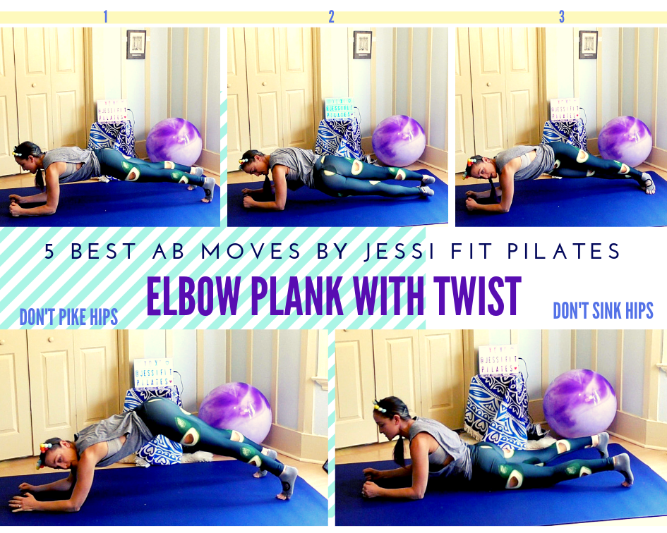 top 5 ab move elbow plank
