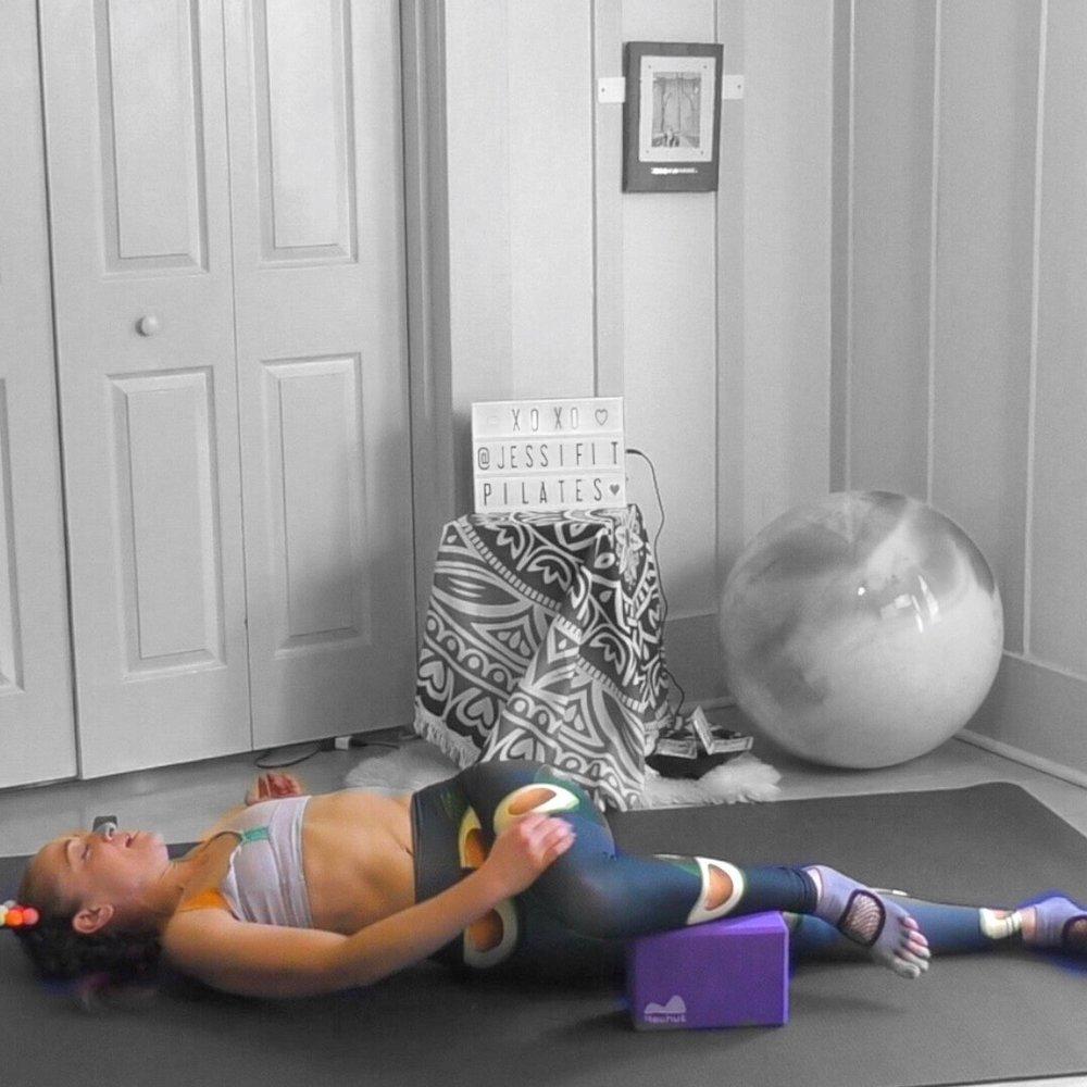 Block under knee variation