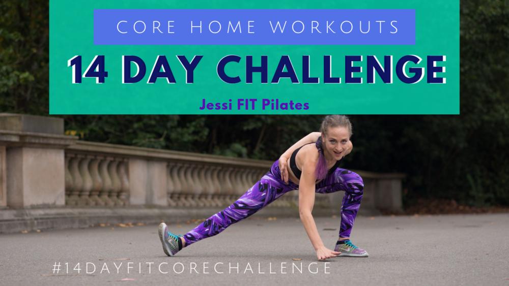 Jessi FIT Pilates core Pilates 14 day fit core challenge