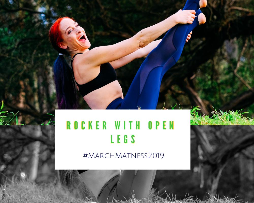 open leg rocker pilates exercise march matness jessi fit pilates