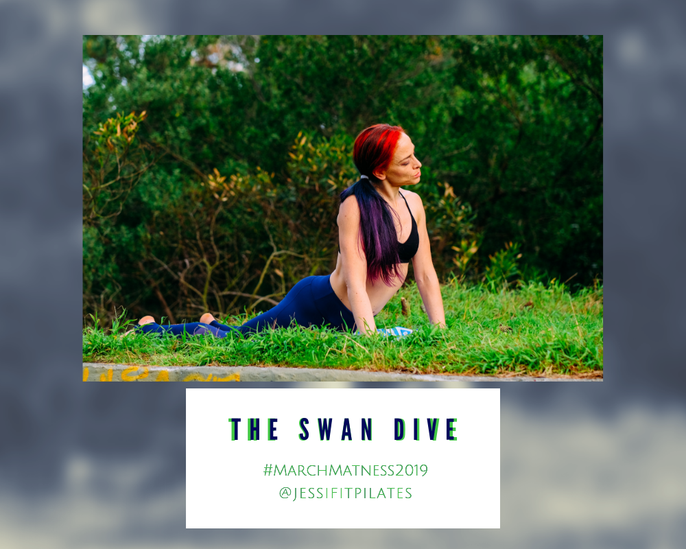 swan dive marchmatness mm2019 pilates exercise