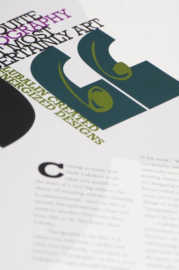 Hand Lettering Detail