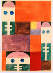Abstract Motifs (masks), 1917