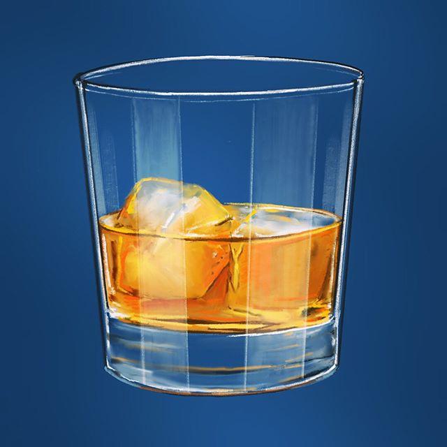 Salud/cheers! 🎨🥃🇩🇴 _________ #trago #brugal #barcelo #artist #art #artlife #design #whiskey #singlemalt #procreate #DR #drawing #illustration #sketch #gentleman #añejo #atlantico