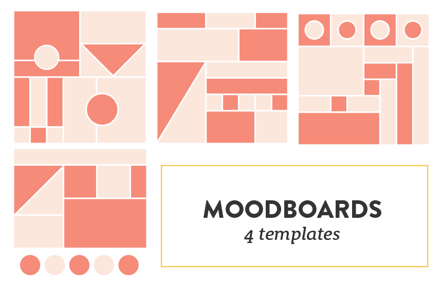how to create a thoughtful and well curated moodboard plus free