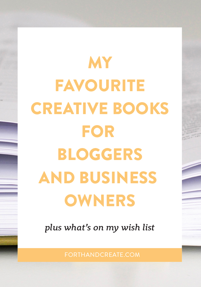 Creative Books for Bloggers