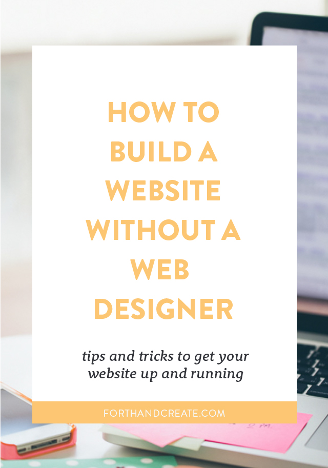 How to build a website without a web designer. website | Design | Web Design