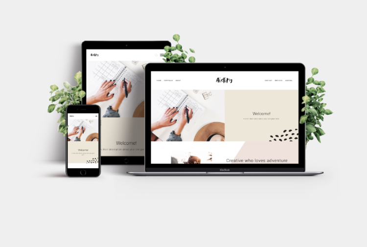 Aisling Squarespace Template