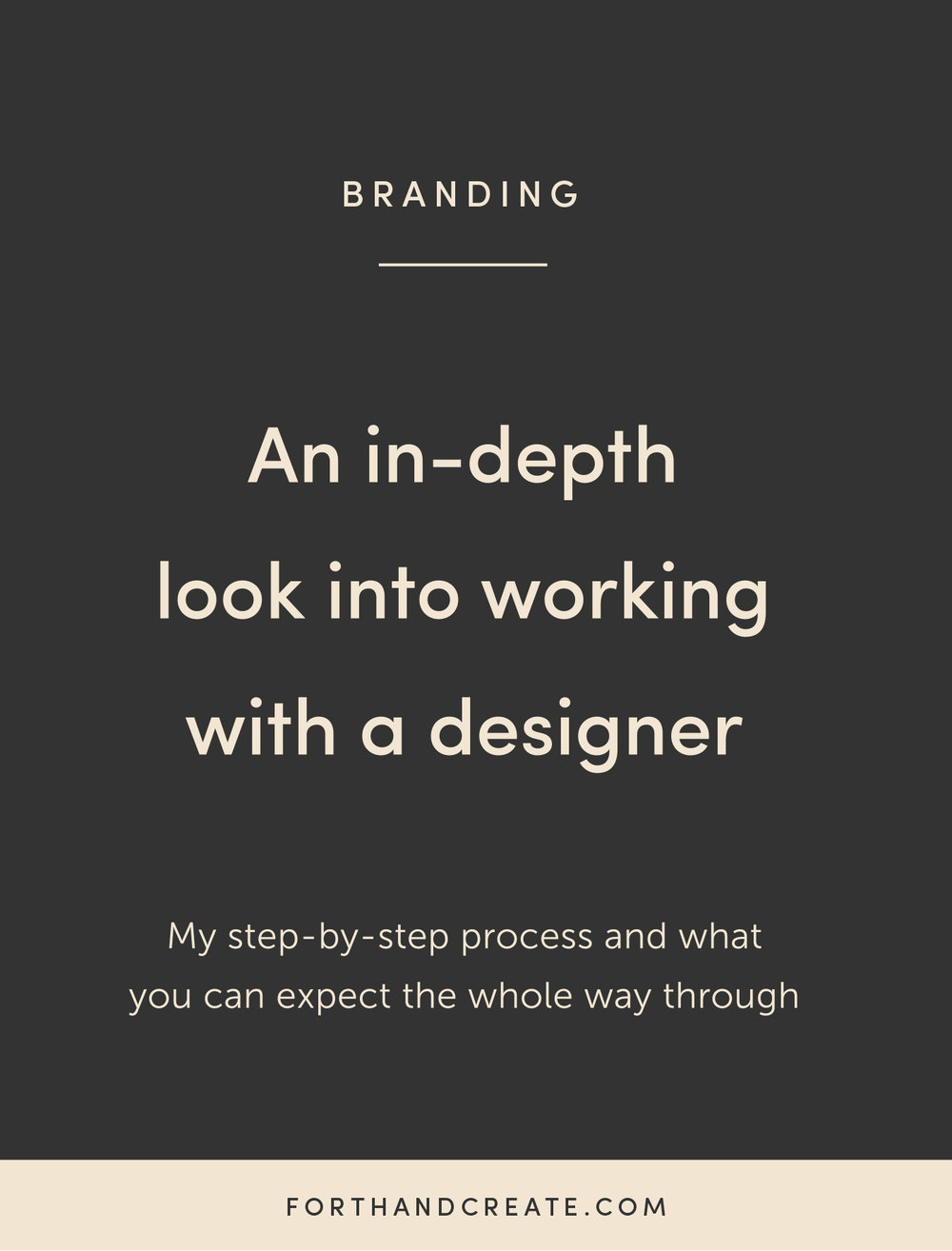 An in-depth look into working with a designer and what you can expect the whole way through. #branding #brandhelp #branddesigner #hiringadesigner