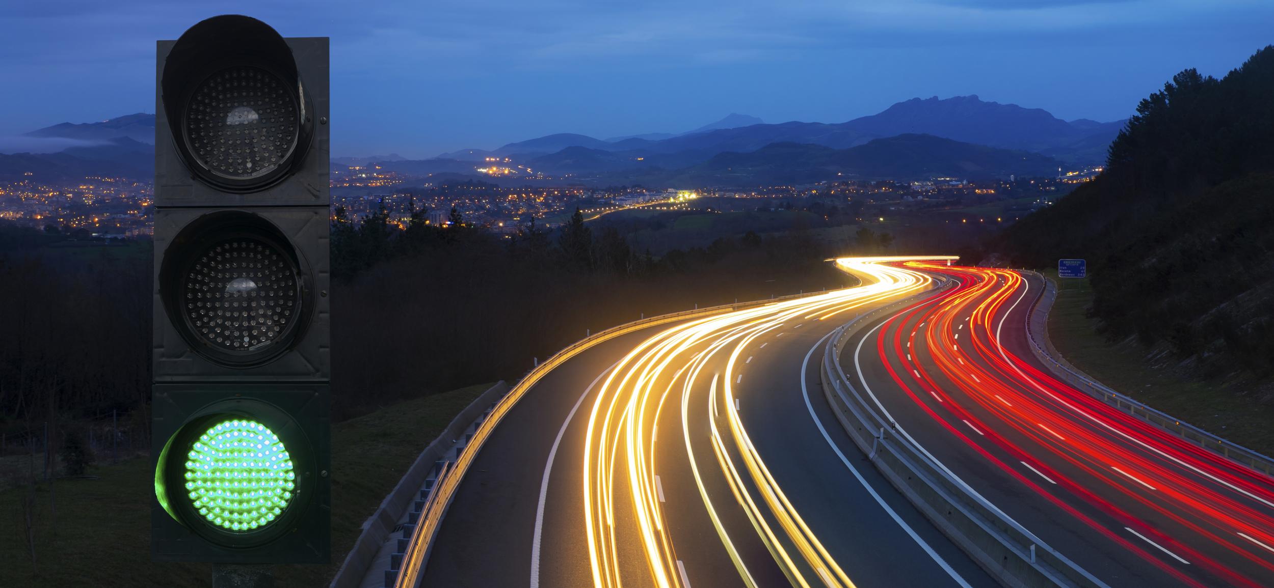 dive in. — NINA GRAE for Traffic Light On Road At Night  131fsj