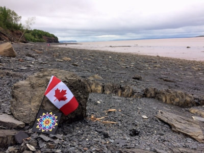 I am glad Canada has so many wonderful beaches because I love exploring them with my family.