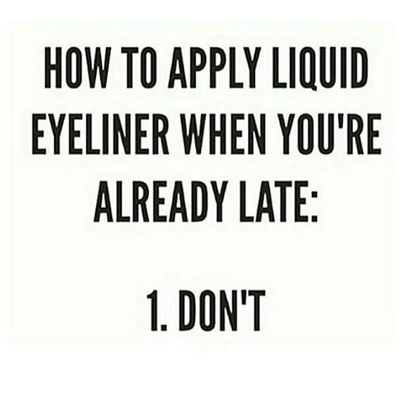 Monday feels.... #makeup #beauty #liquideyeliner #mondaymood