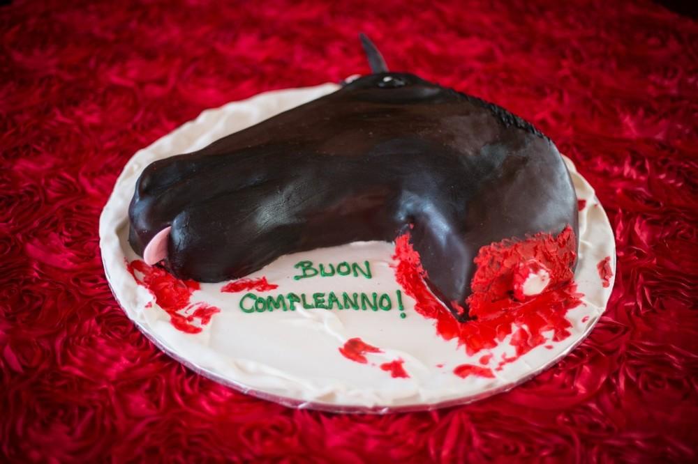 Godfather Theme Cake - Felici Events