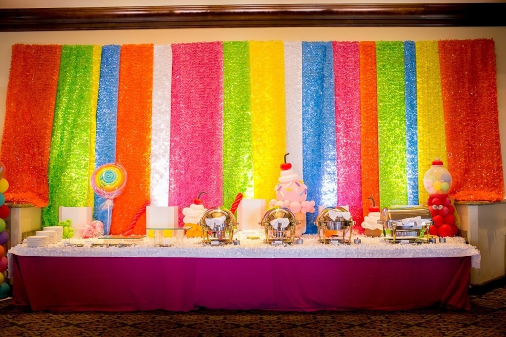decor ideas dylan's candy bar Felici Events