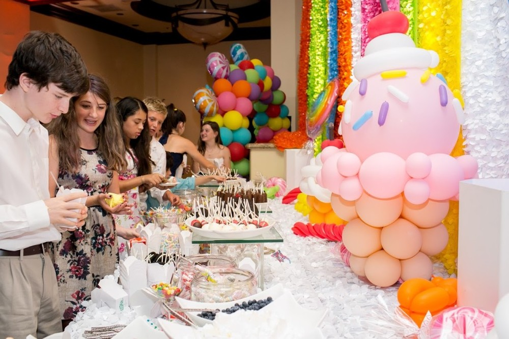 Felici Events candy bar kid party