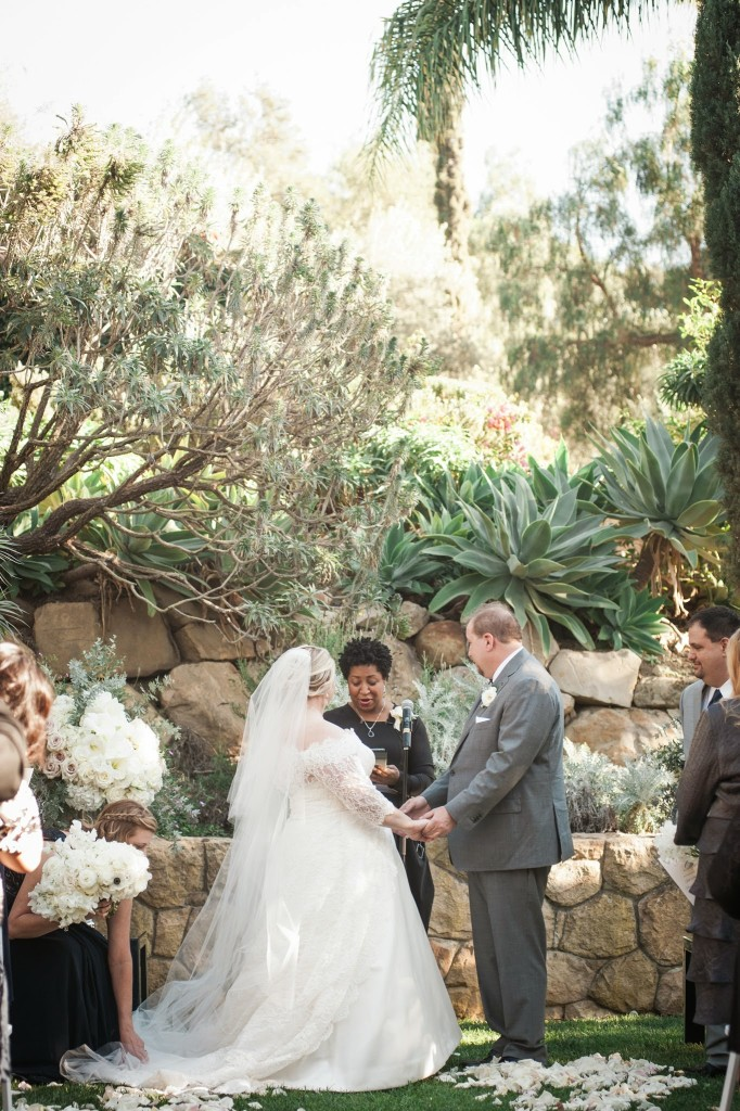 Jill and Jason Wedding Ceremony Villa Verano Felici Events