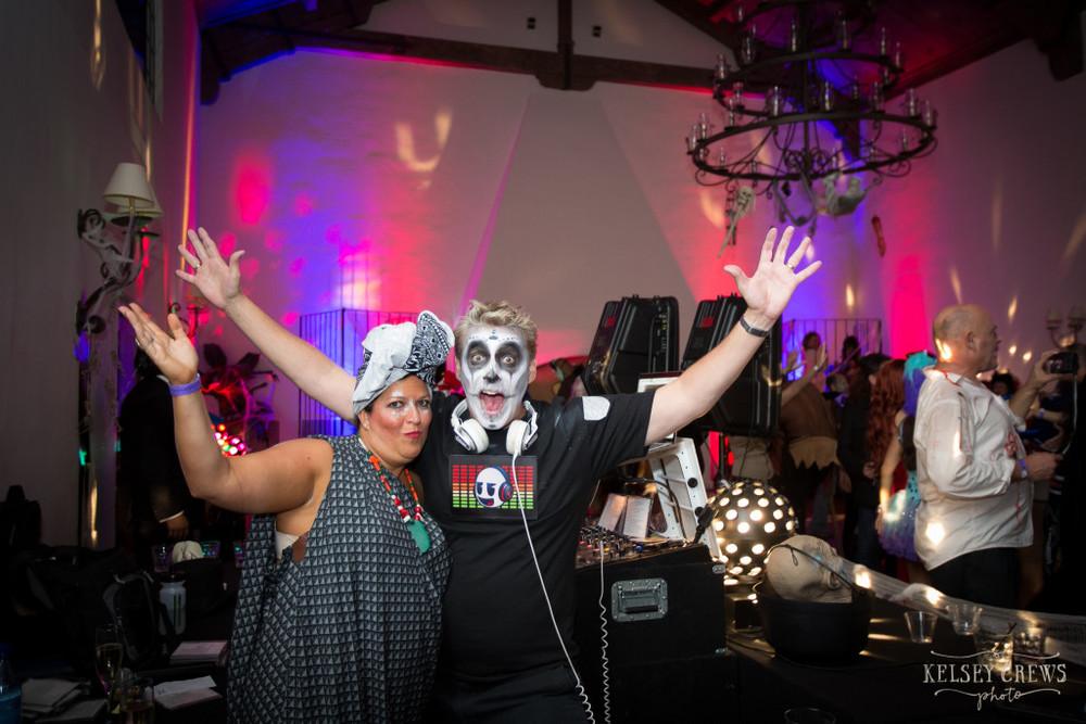 #voodoosb your hosts Zohe and Scott Topper 2015 Montecito Country Club Kelsey Crews Felici Events