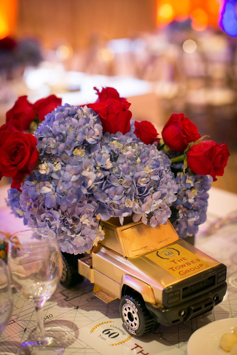 Felici Events | Planner | Fess Parker A Doubletree By Hilton Resort | 60th Anniversary Celebration | Flower Decor