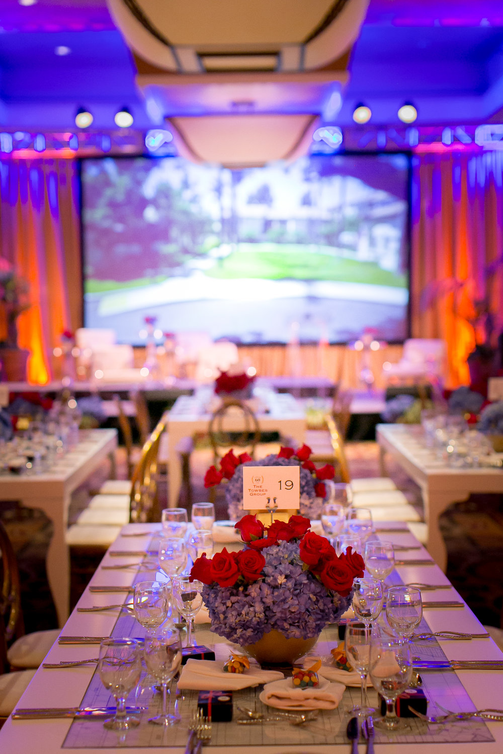 Felici Events | Planner | Fess Parker A Doubletree By Hilton Resort | 60th Anniversary Celebration | Construction Theme | Reception