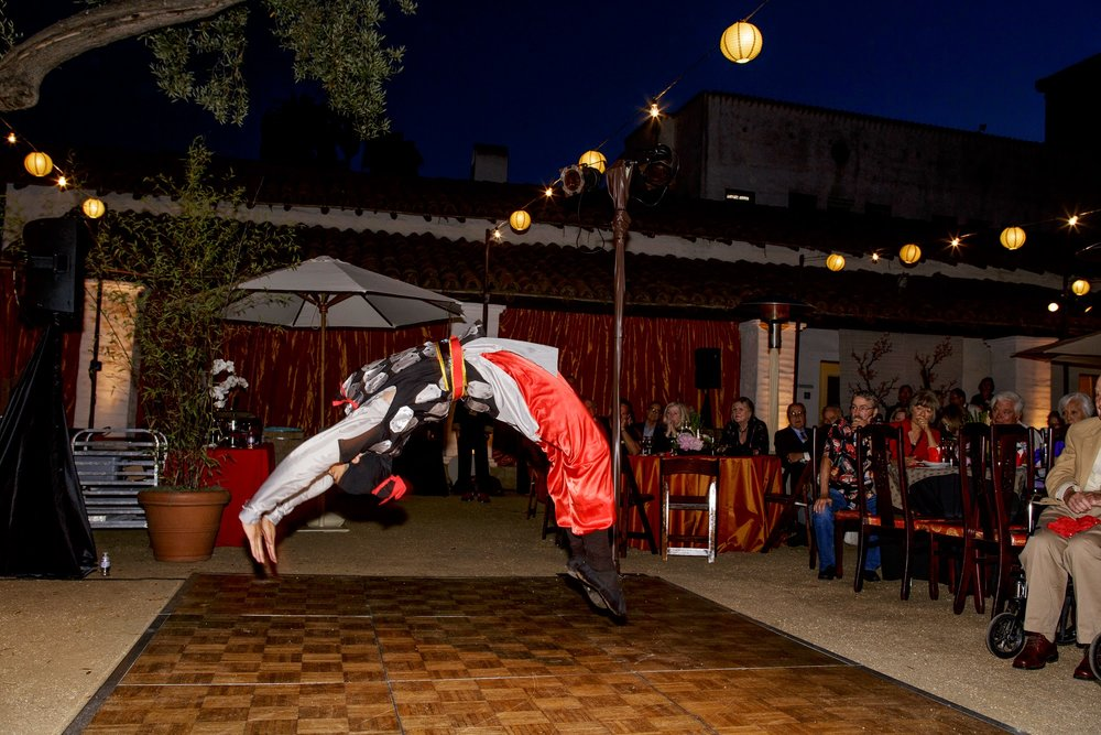 felicievents.com | Corporate Event planner | Santa Barbara Trust of Historic Preservation | Asian Theme Fundraiser | Traditional Japanese Entertainment