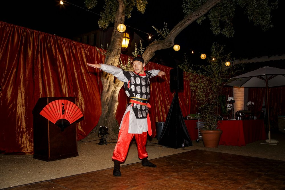 felicievents.com | Corporate Event planner | Asian Theme Dinner | Fundraiser | Non-Profit | Traditional Japanese Dancing