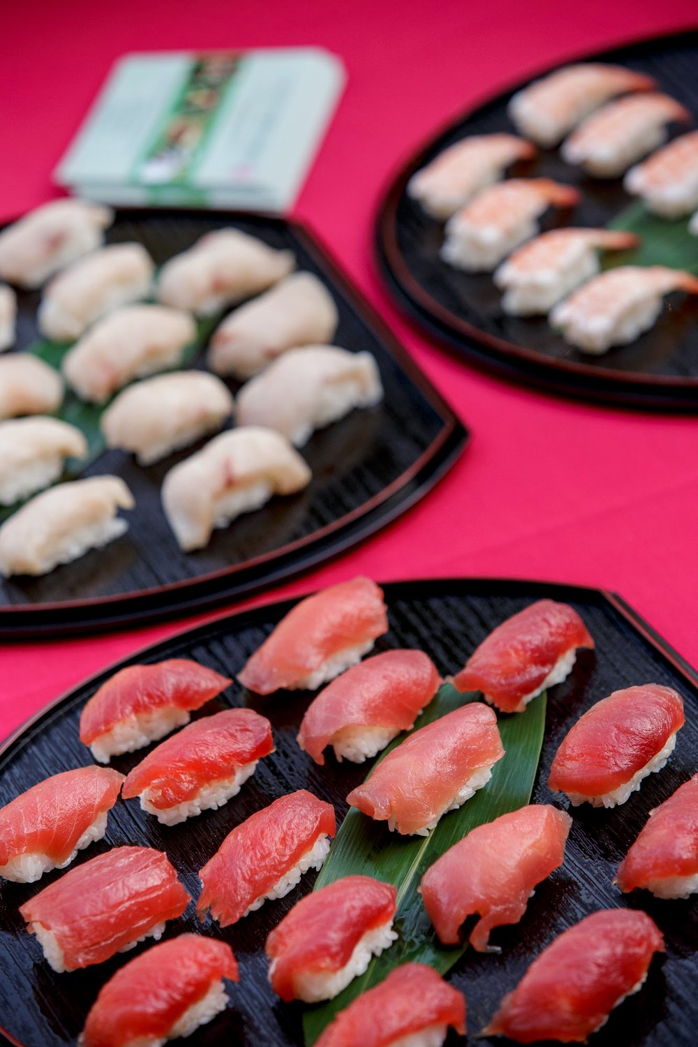 felicievents.com | Corporate Event planner | Asian Theme Dinner | Fundraiser | Non-Profit | Sushi Station
